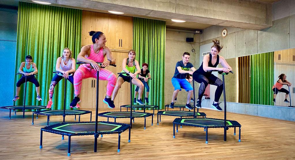 Jumping Fitness Kurse
