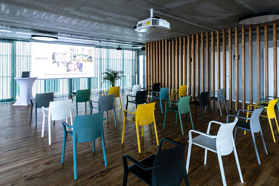 AirSpace - Räume für Konferenzen, Seminare und Präsentationen